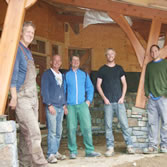 Stone Work Class group picture