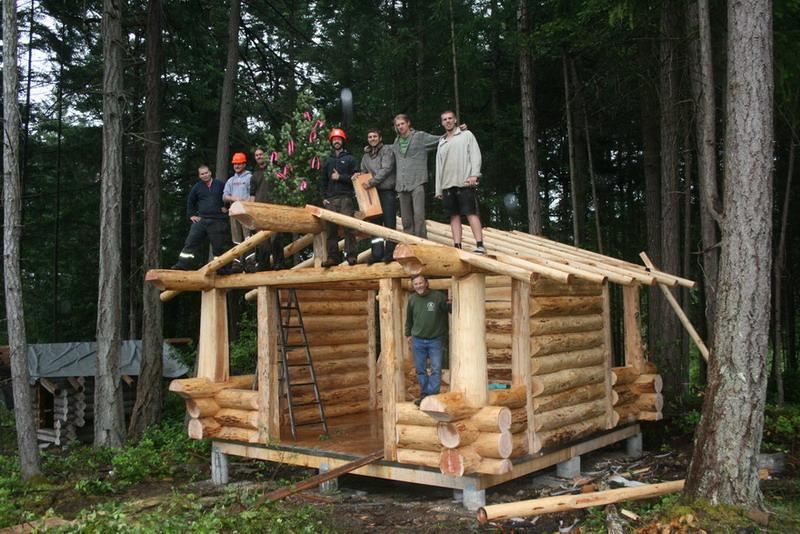 Island School Of Building Arts Gt Store Gt Log Wilderness Cabin