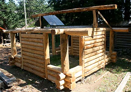 Plans For Building Log Store